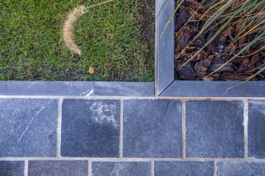 Plaatsing van terras in keramische tegel